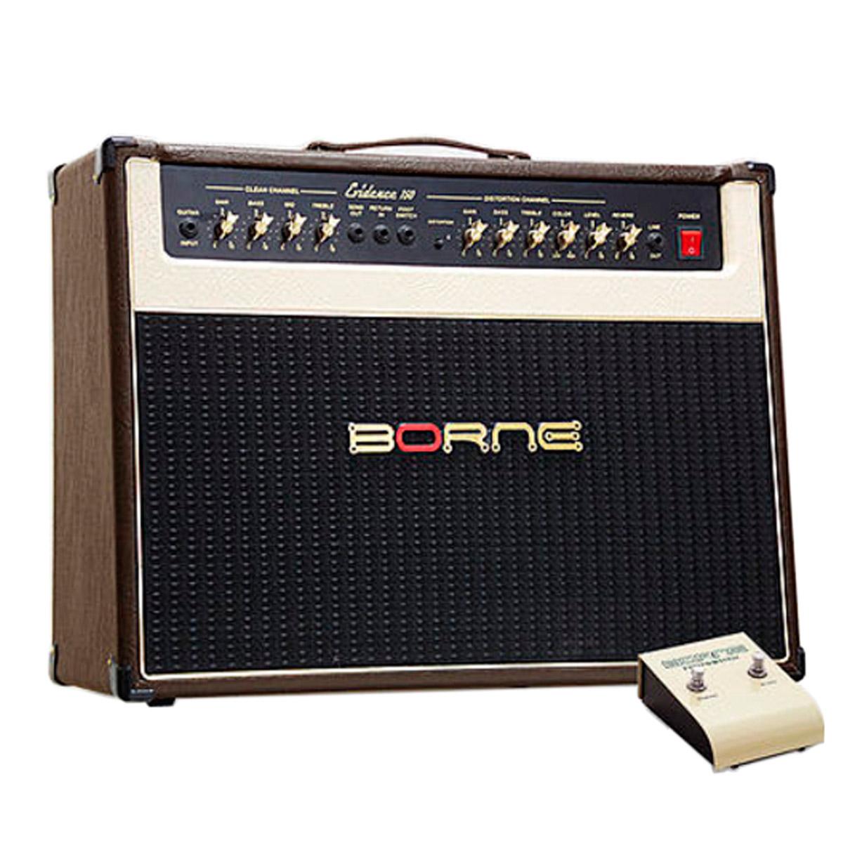 Evidence150 - Amplificador Combo p/ Guitarra 100W Evidence 150 Marrom - Borne