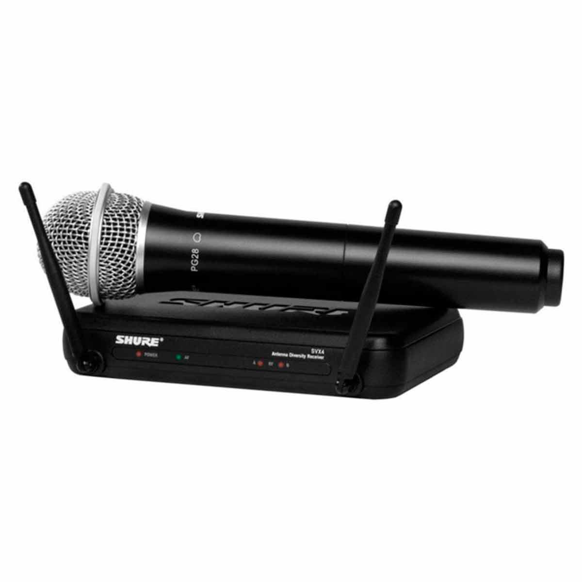SVX24BRPG28 - Microfone s/ Fio de M�o SVX 24BR PG28 - Shure