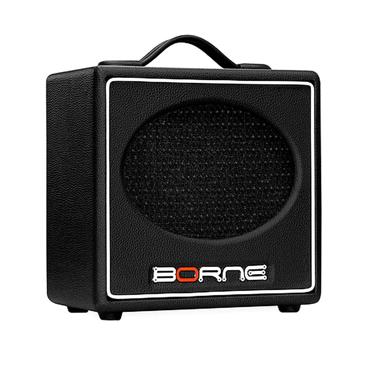 GS60 - Amplificador Combo p/ Guitarra 20W Stilo GS 60 Preto - Borne