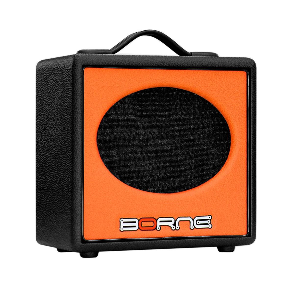 GS60 - Amplificador Combo p/ Guitarra 20W Stilo GS 60 Laranja - Borne