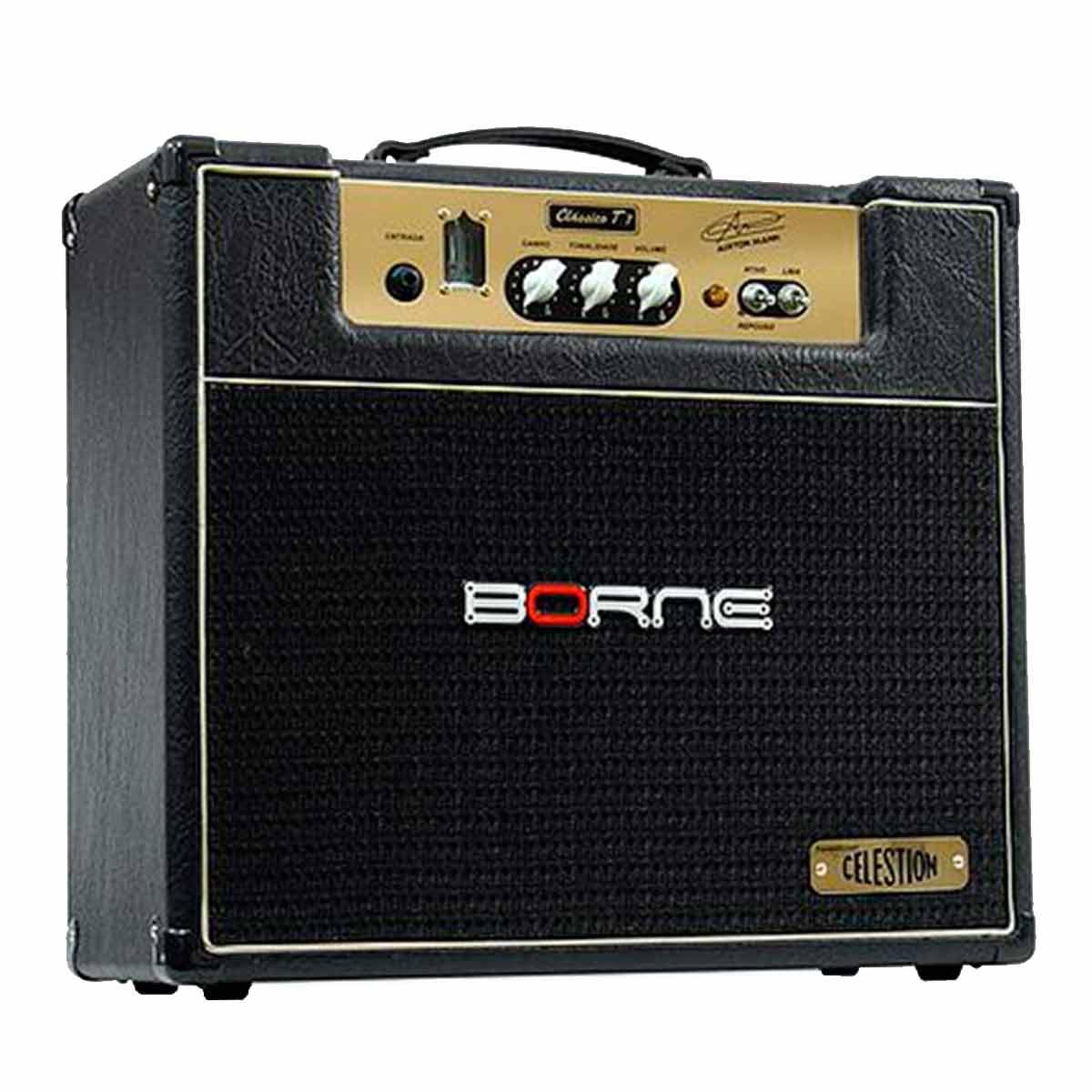 Amplificador Combo Valvulado p/ Guitarra 7W Clássico T7 Airton Mann - Borne