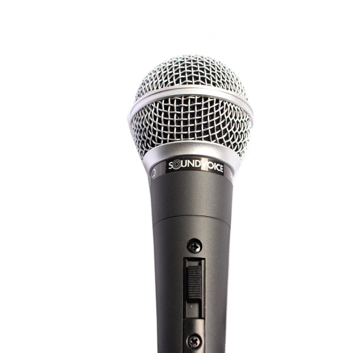 SM58S - Microfone c/ Fio de Mão SM 58S - Soundvoice