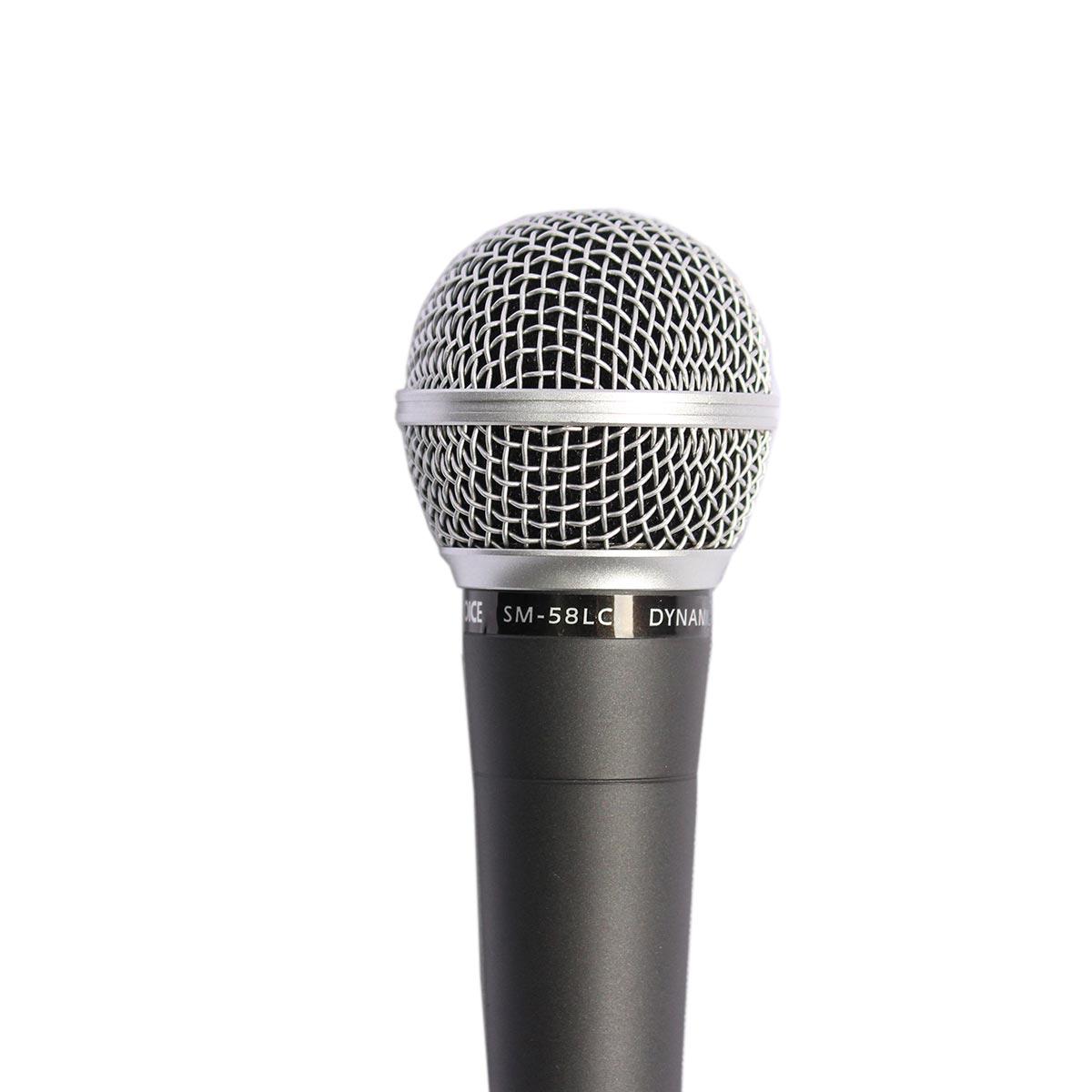 SM58LC - Microfone c/ Fio de Mão SM 58 LC - Soundvoice