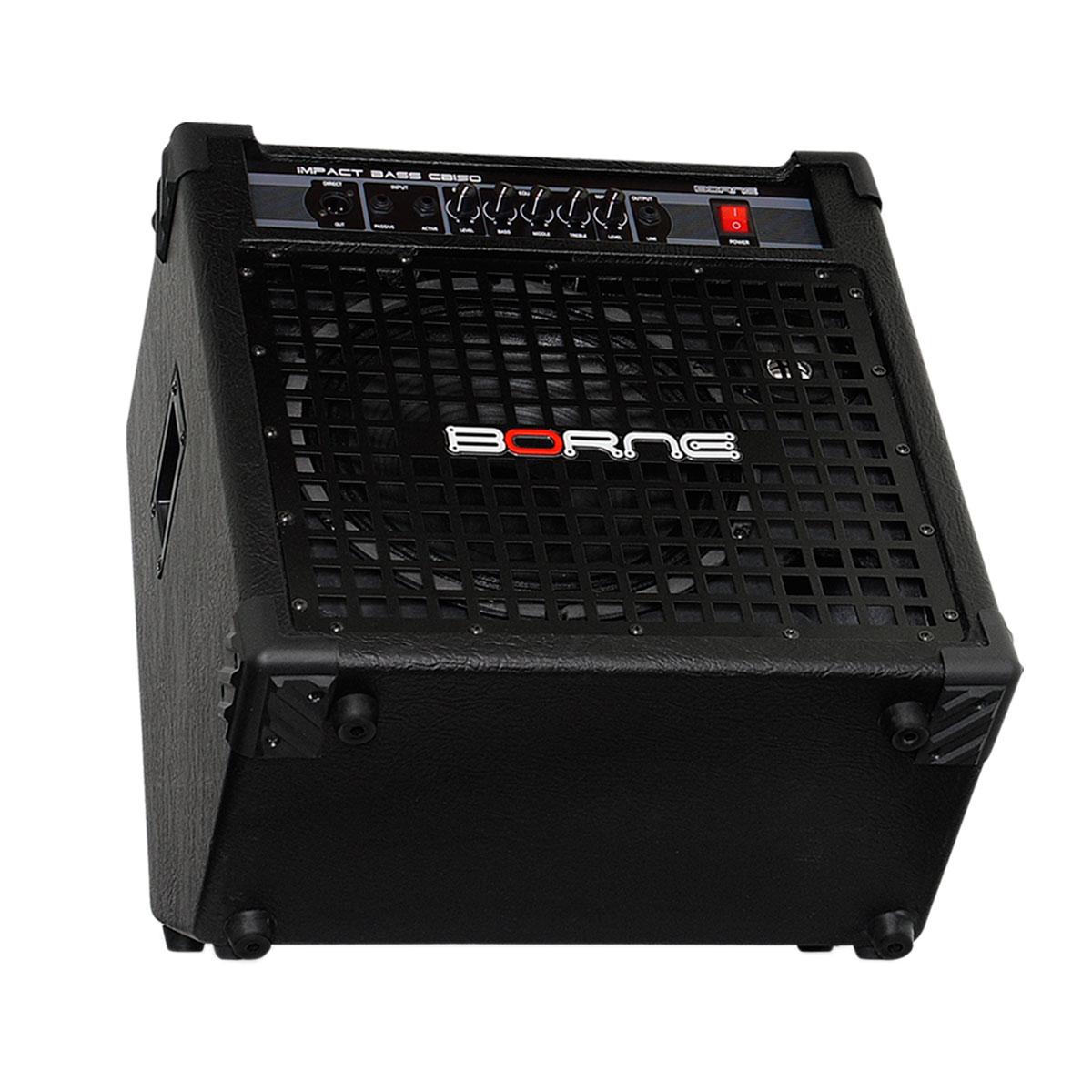 Amplificador Combo p/ Contrabaixo 150W Impact Bass CB 150 - Borne