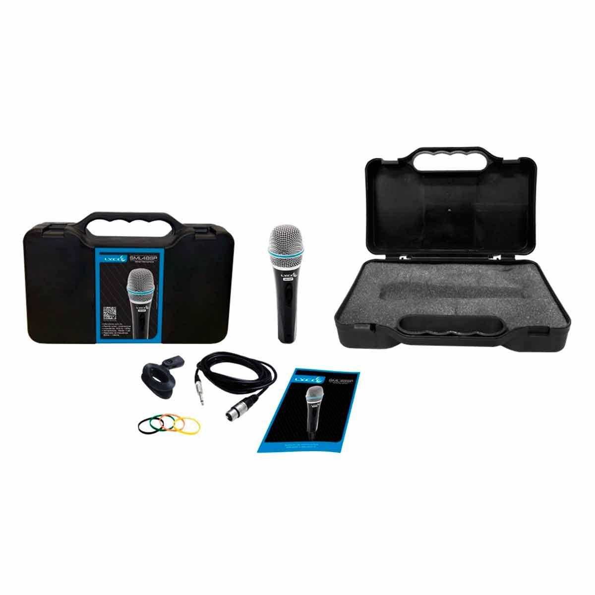SML48SP - Microfone c/ Fio de Mão SML 48 SP - Lyco