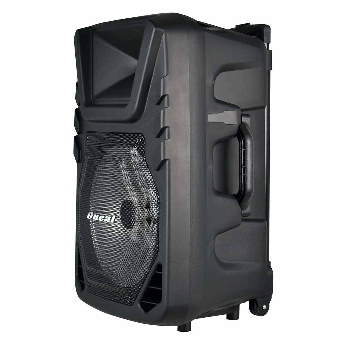 Caixa Portátil c/ Bateria, Bluetooth e USB 110W OMF 425 - Oneal