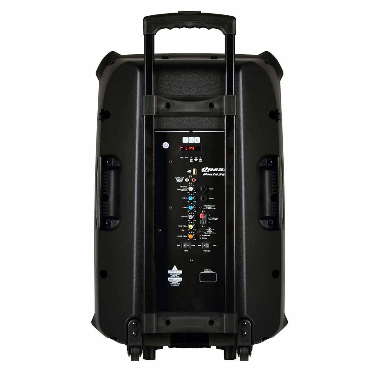 OMF450 - Caixa Port�til c/ Bateria, Bluetooth e USB 120W OMF 450 - Oneal