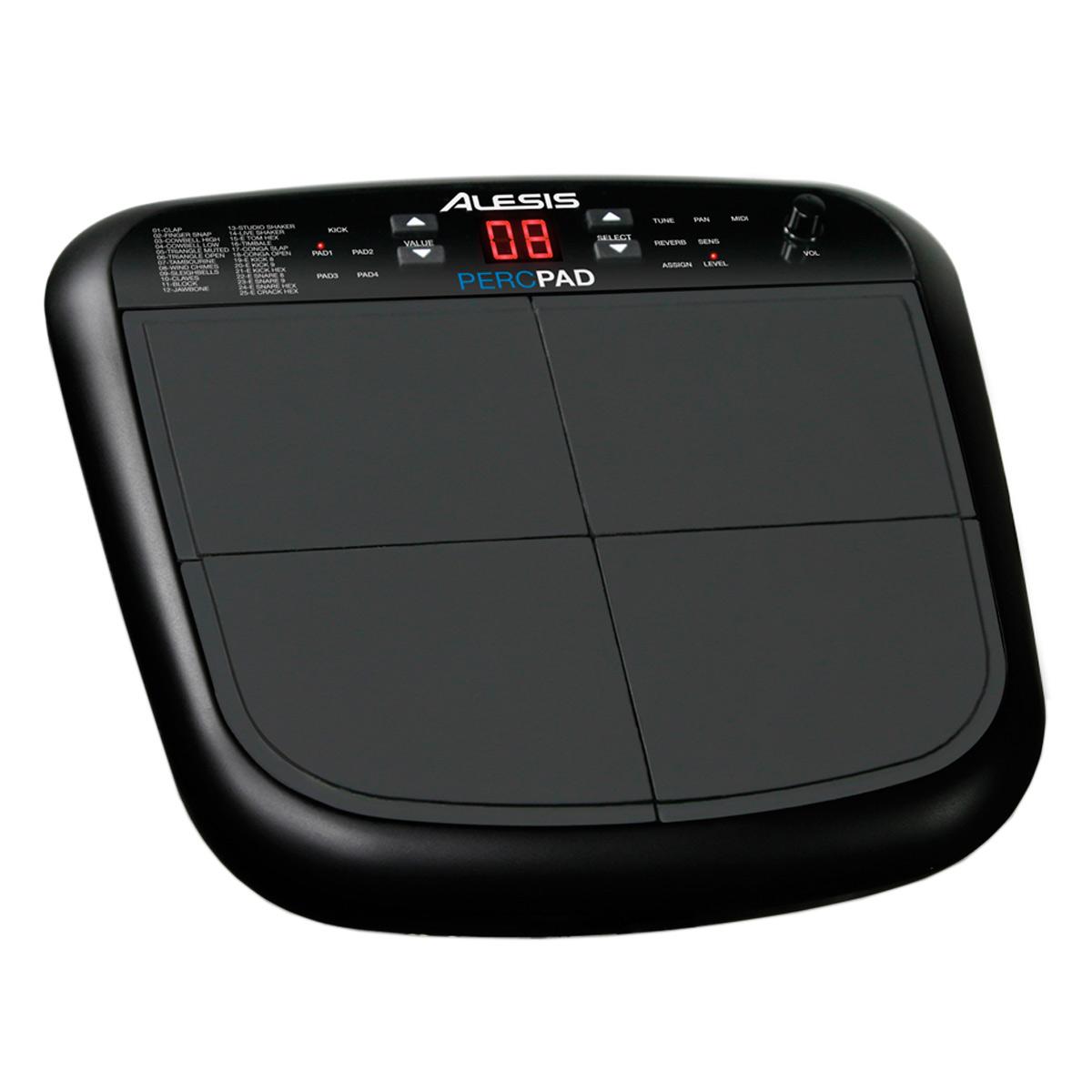 Instrumento de Percuss�o 4 PADs PercPad - Alesis