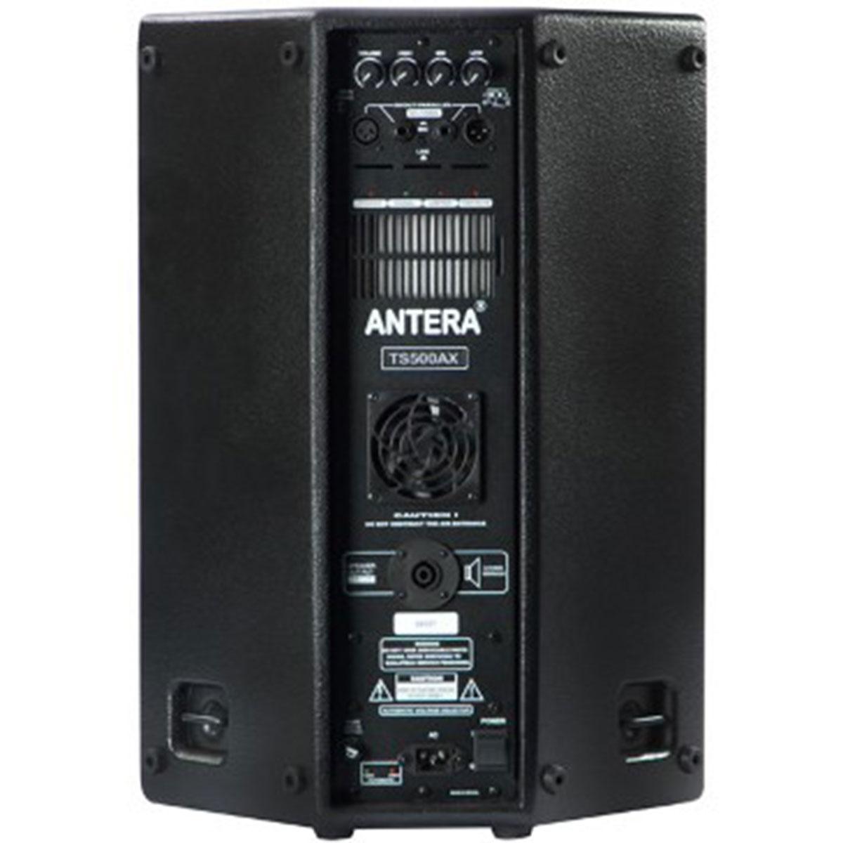 TS500AX - Caixa Ativa 250W Preta TS 500 AX - Antera