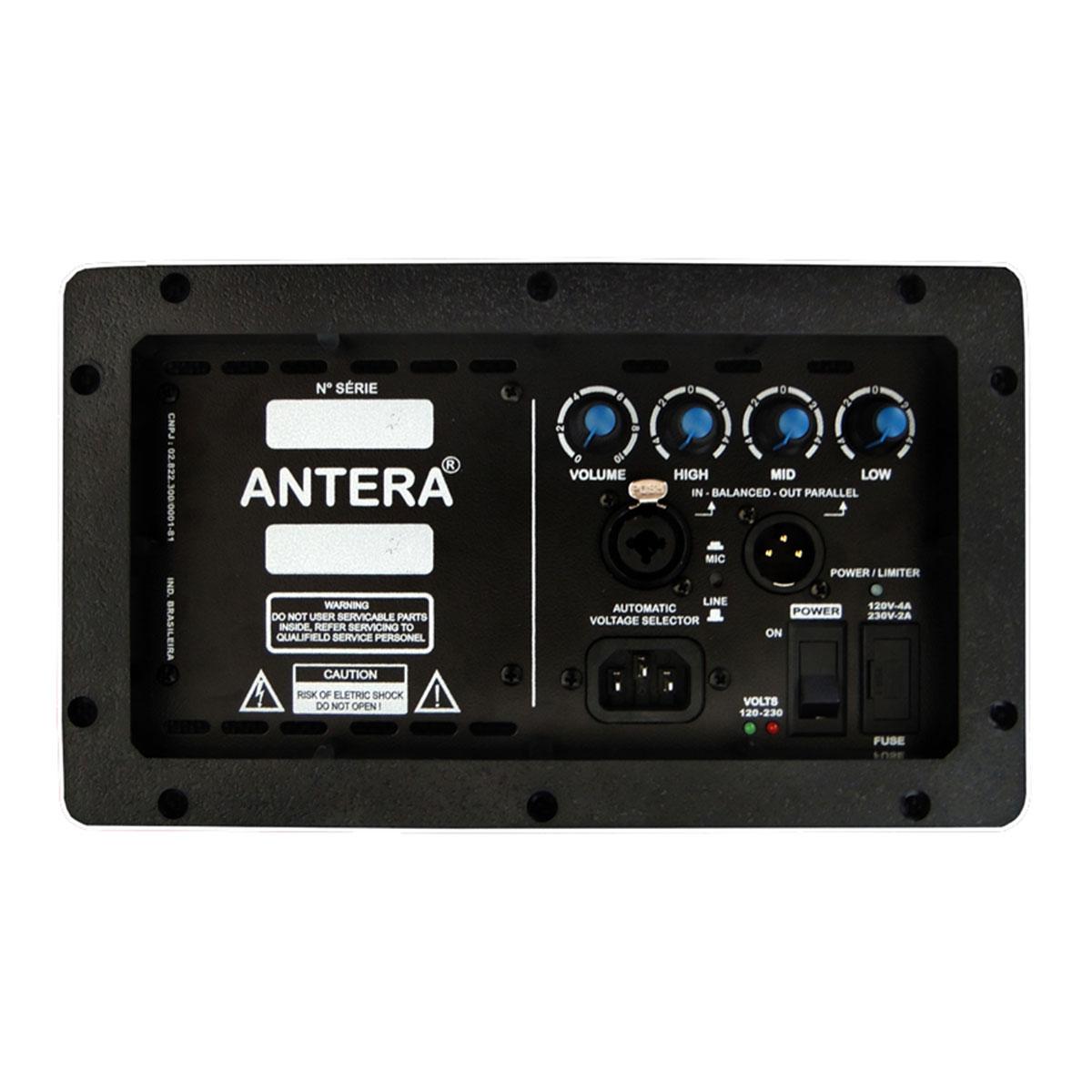 Monitor Ativo 200W Preto MR 12 A - Antera