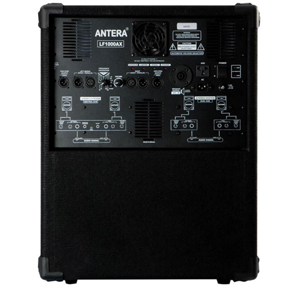 LF1000AX - Subwoofer Ativo 600W Preto LF 1000 A X - Antera