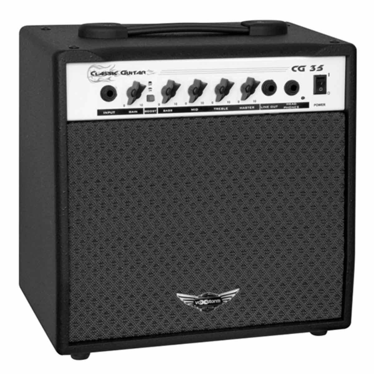 CG35 - Amplificador Combo p/ Guitarra 20W Classic Guitar CG 35 Preto - Voxstorm