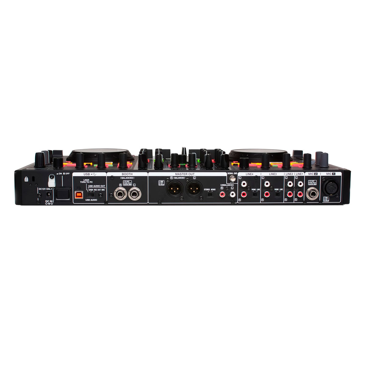 MC6000MK2 - Controladora DJ c/ USB MC 6000 MK2 - Denon DJ
