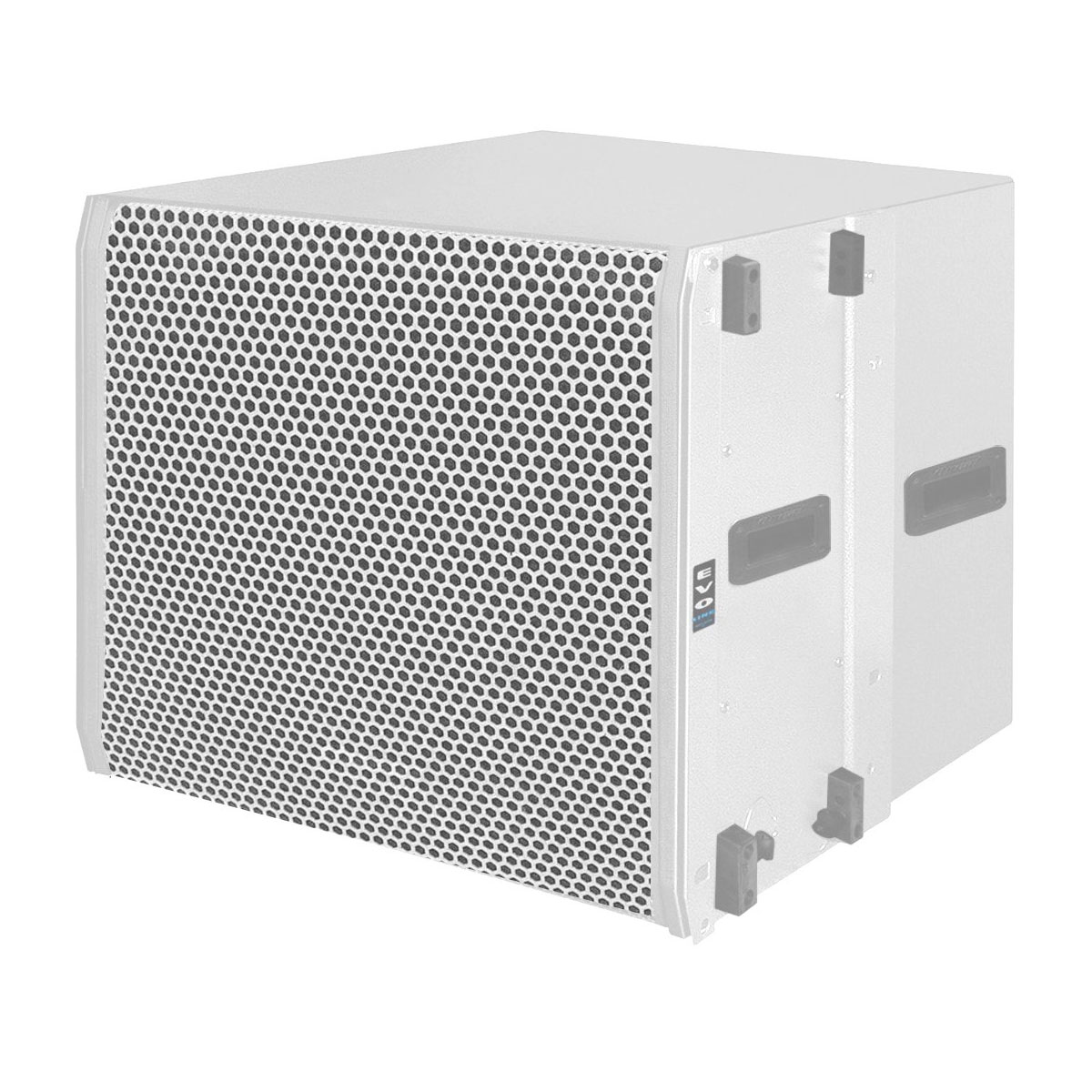 Subwoofer Ativo Line Array 600W OLS 1018 Branco - Oneal