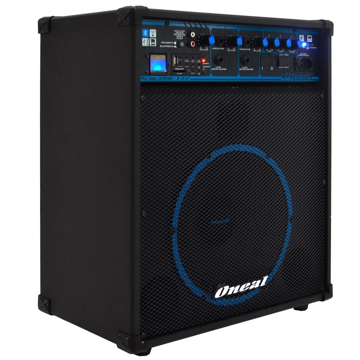 Cubo Multiuso Ativo 80W c/ Bateria, Bluetooth e USB COM 390 12V - Oneal