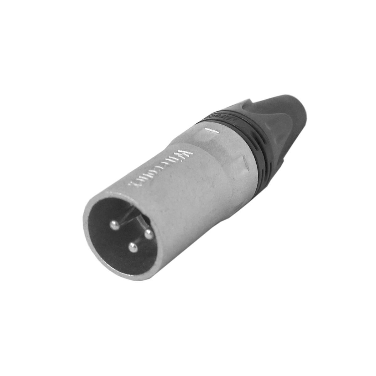 WC1013 - Conector XLR Macho Linha WC 1013 - Wireconex