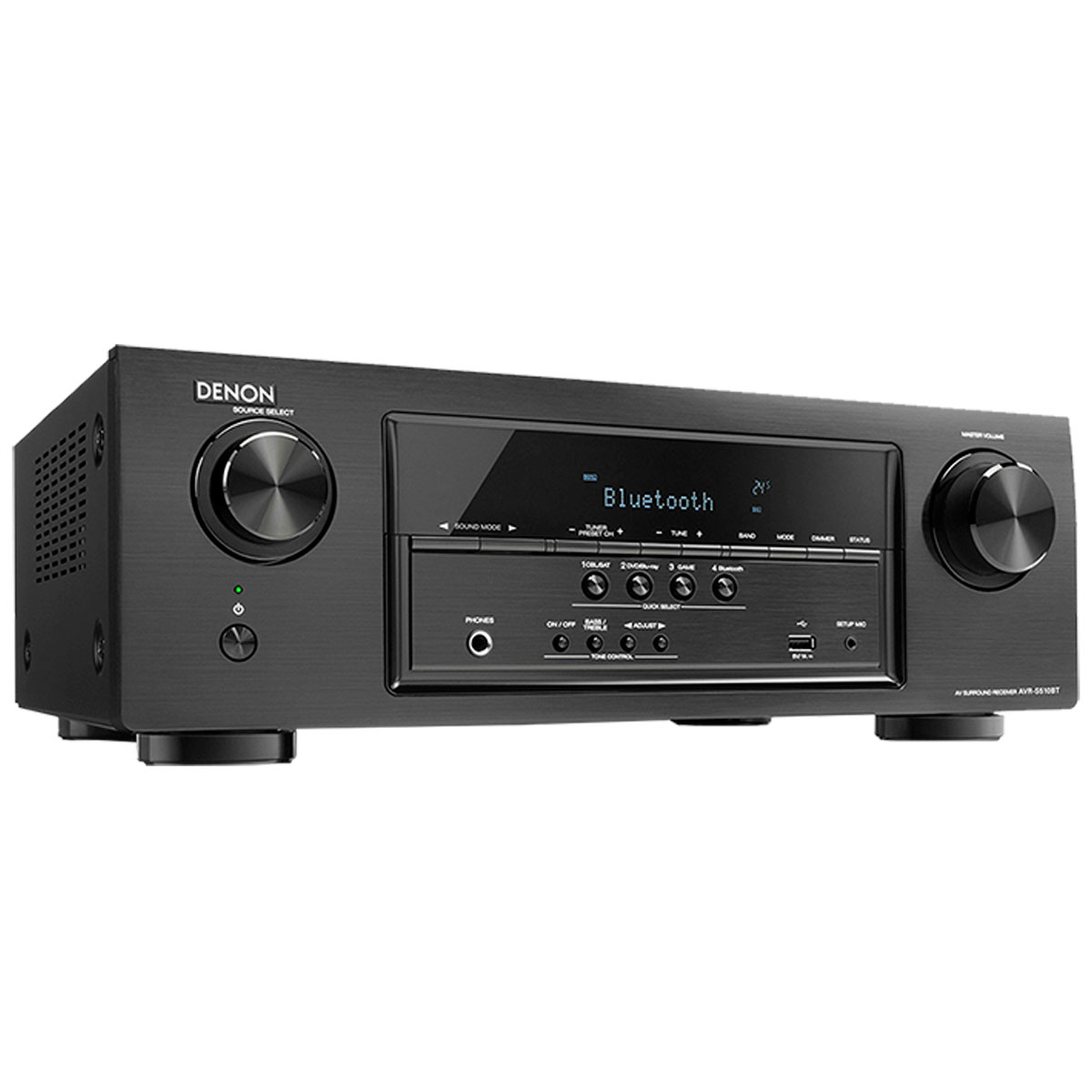Receiver 5.2 Canais 5 HDMI c/ Bluetooth AVR-S510BT - Denon