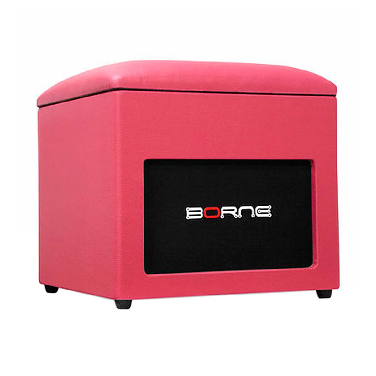 Caixa Passiva 60W Lounge Cube Rosa - Borne