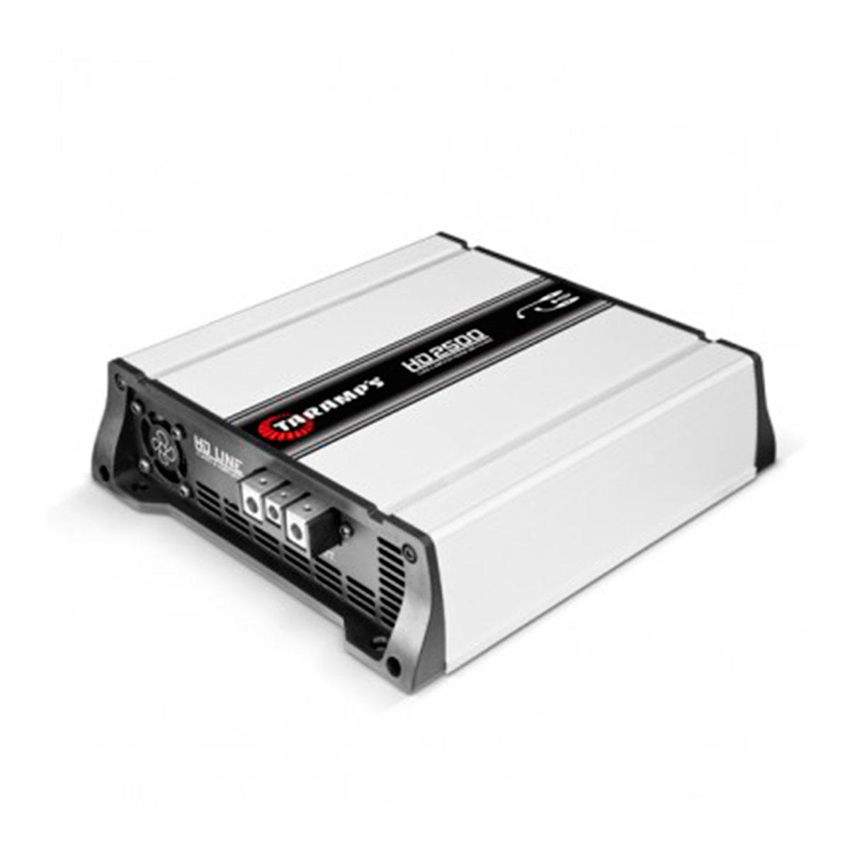HD2500 - Módulo Amplificador Digital 2500W 1 Canal 1 Ohm HD 2500 - Taramps