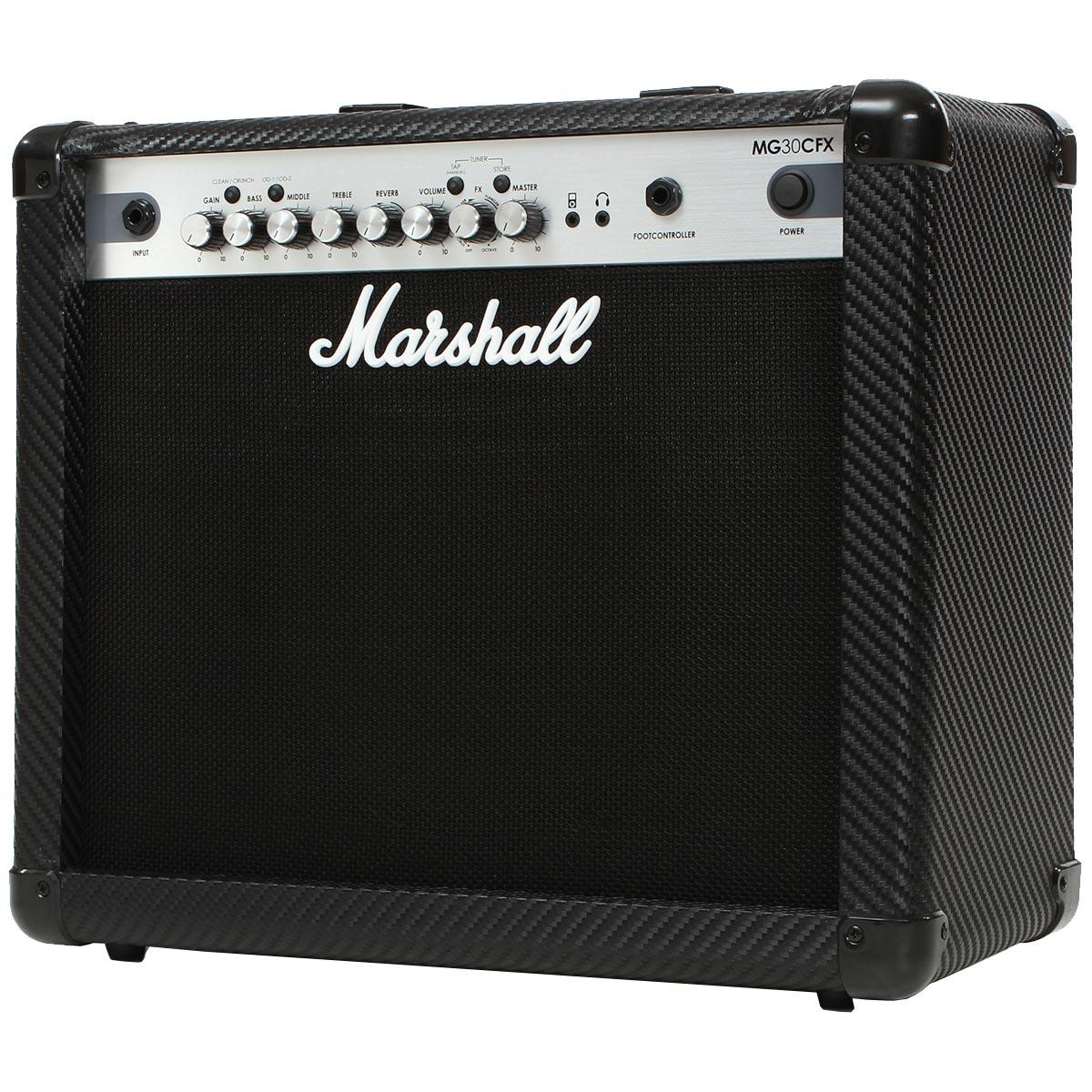 Amplificador Combo p/ Guitarra 30W Carbon Fibre MG30CFX - Marshall