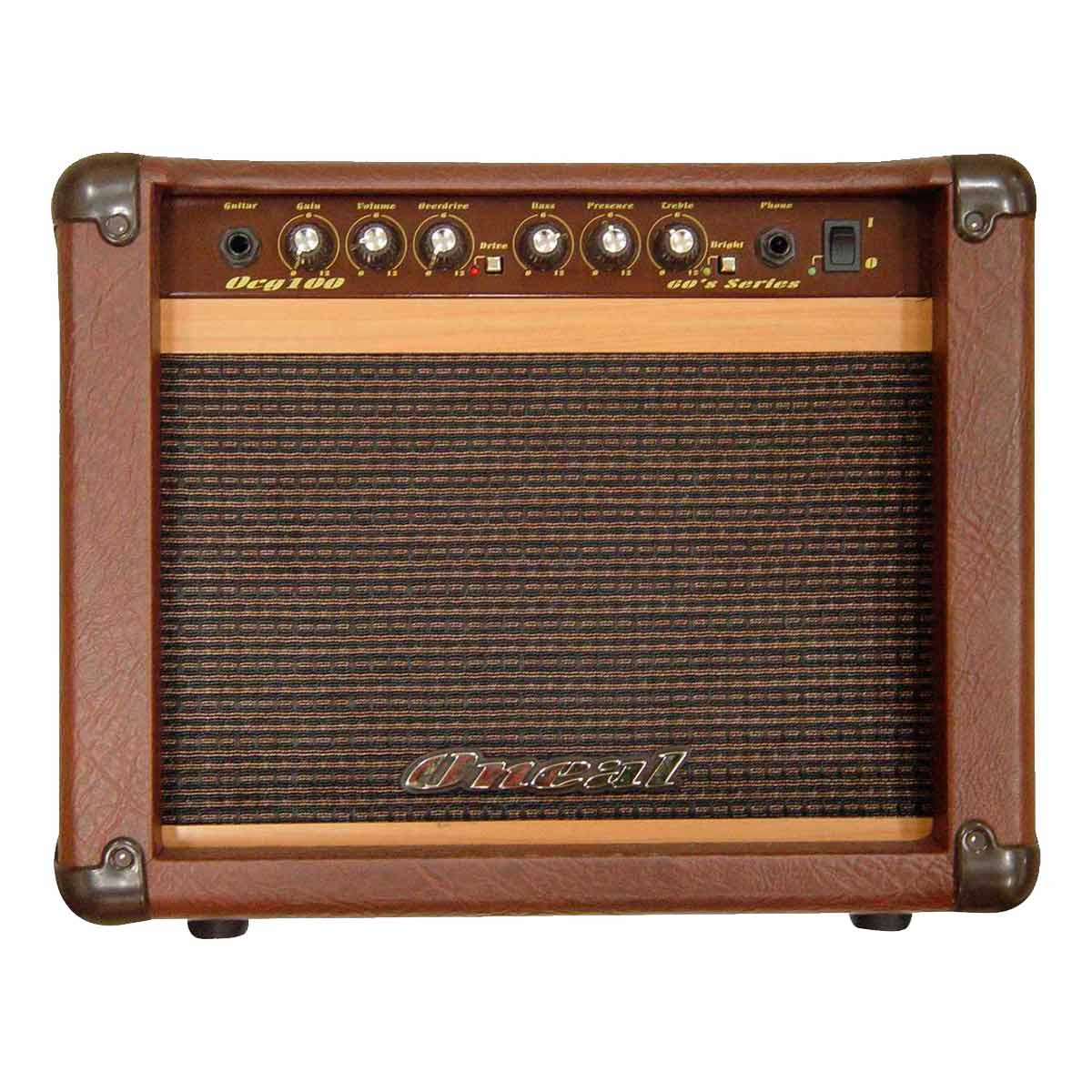 Amplificador Combo p/ Guitarra 30W OCG 100 Marrom - Oneal