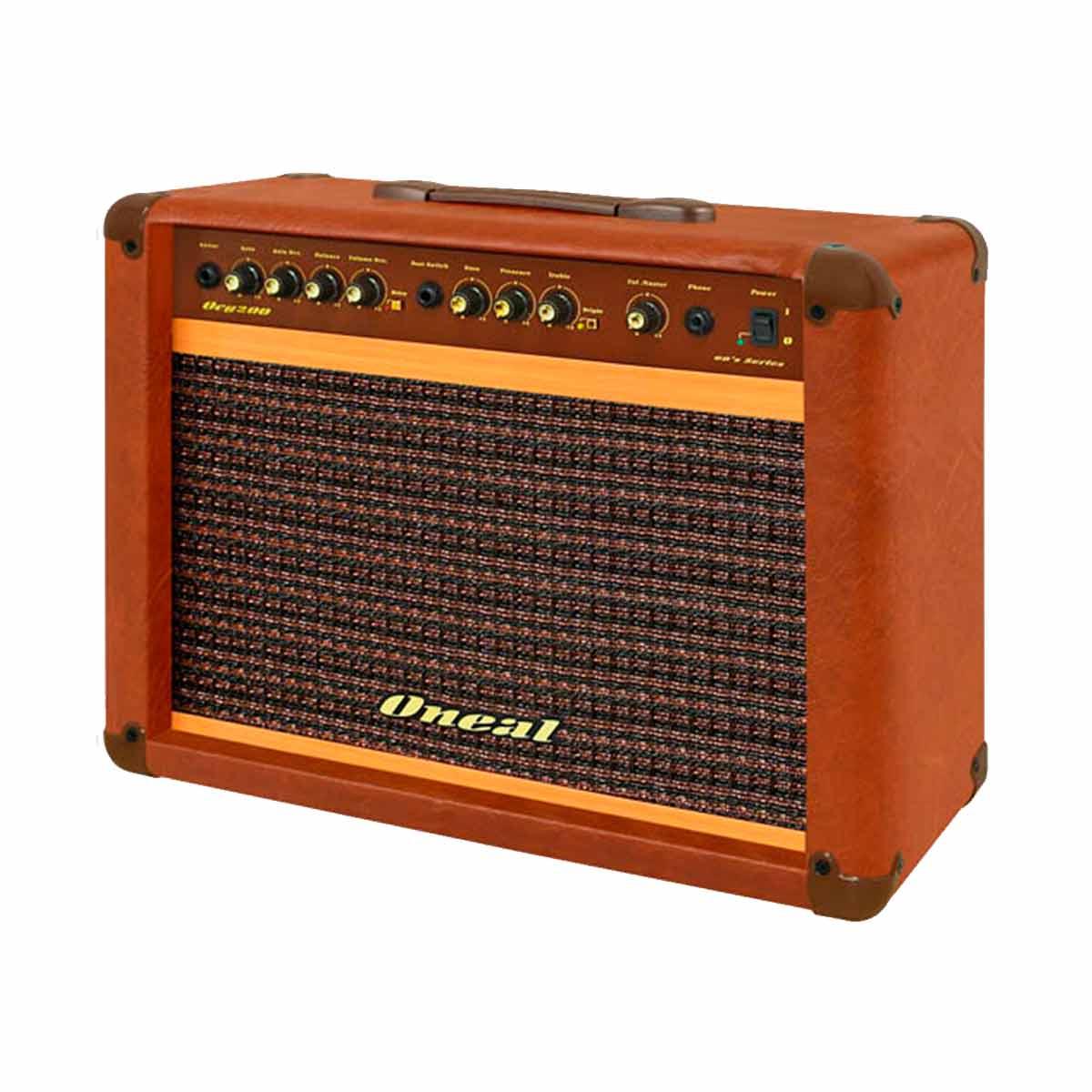 Amplificador Combo p/ Guitarra 60W OCG 200 Marrom - Oneal
