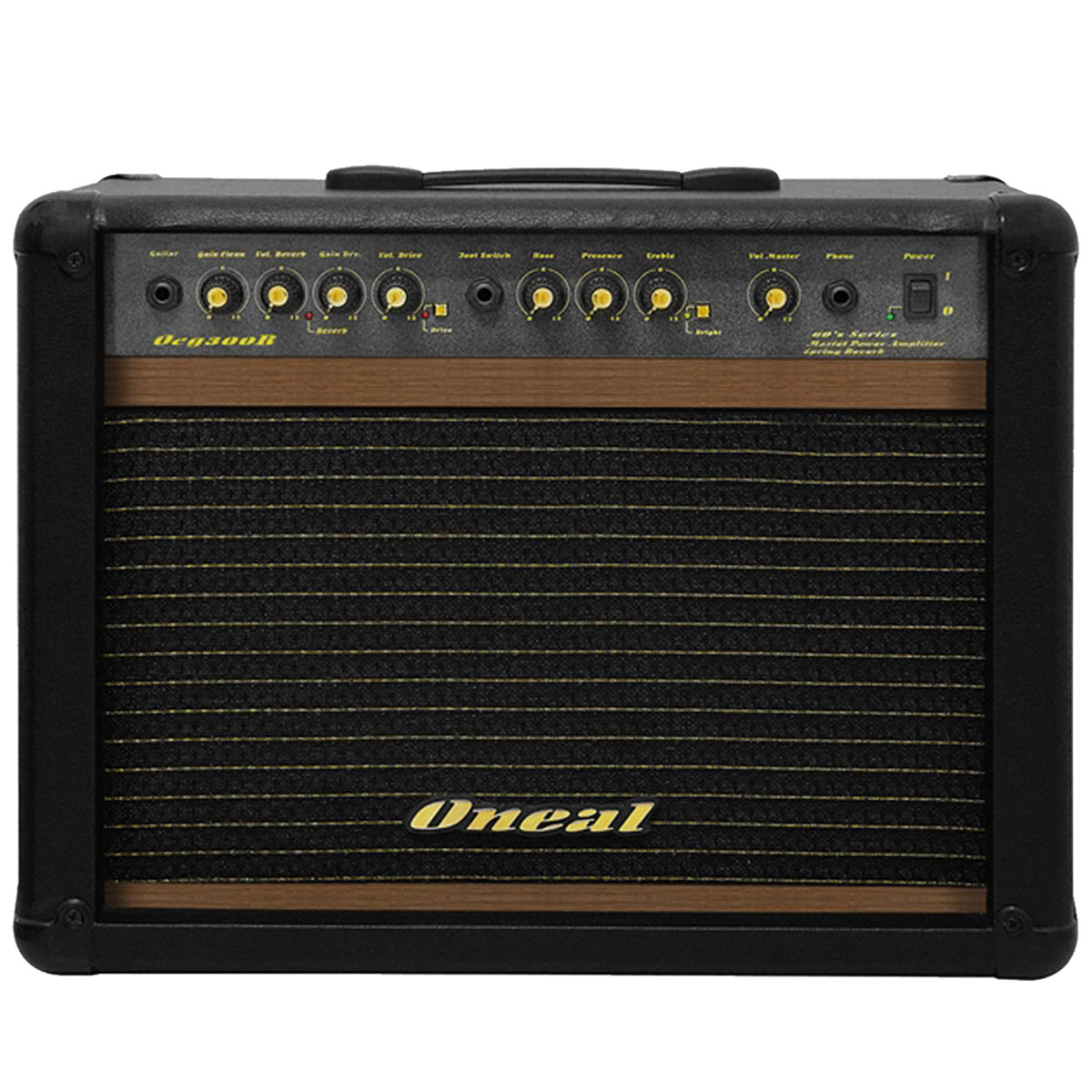 Amplificador Combo p/ Guitarra 60W OCG 300R Preto - Oneal