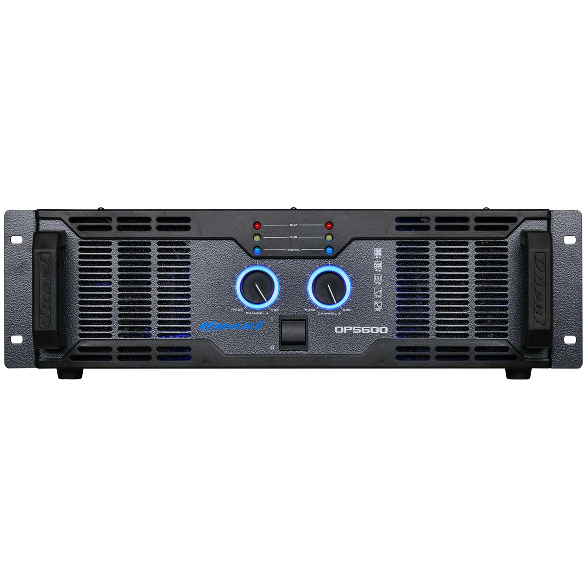 Amplificador Estéreo 2 Canais 1000W RMS ( Total ) OP 5600 - Oneal