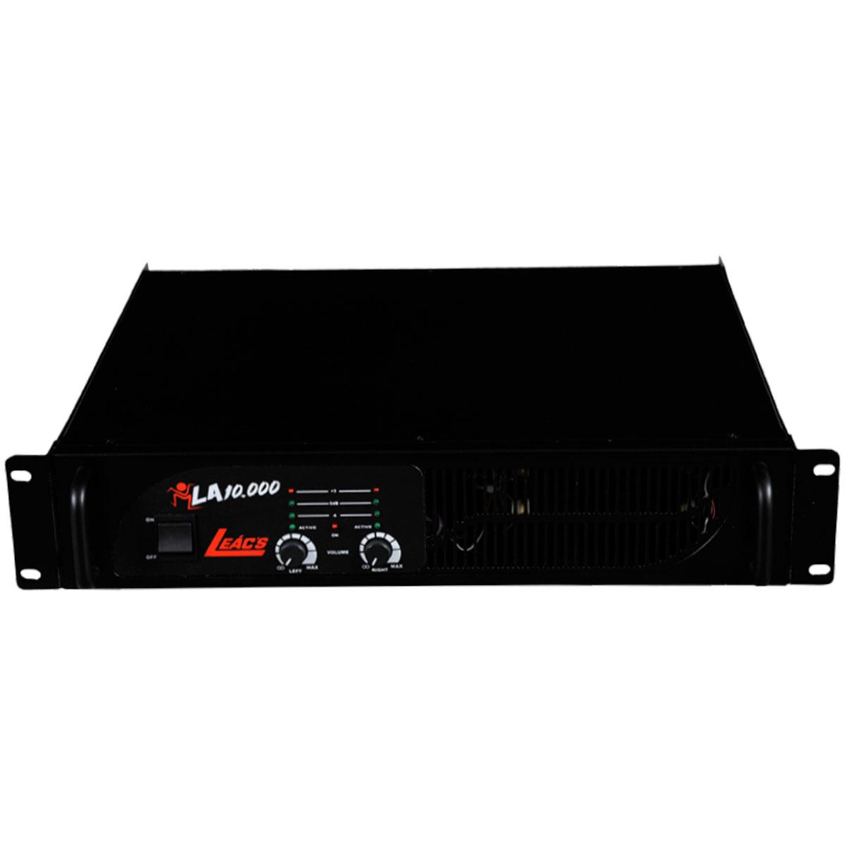 Amplificador La10.000 2000w Rms Leacs