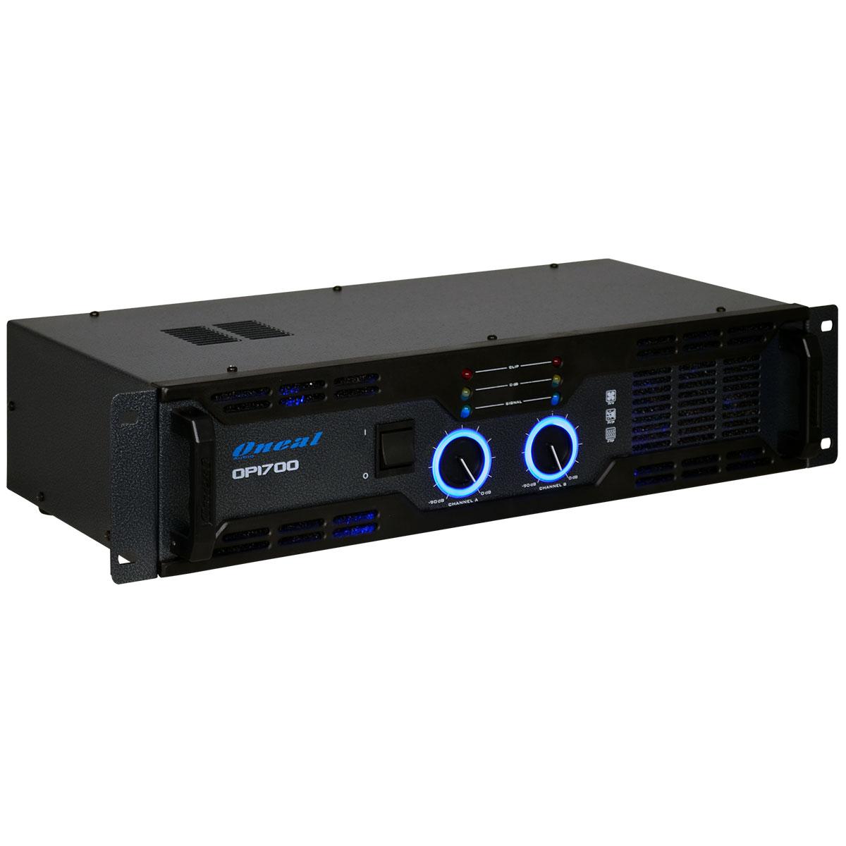 Amplificador Estéreo 2 Canais 220W RMS ( Total ) OP 1700 - Oneal