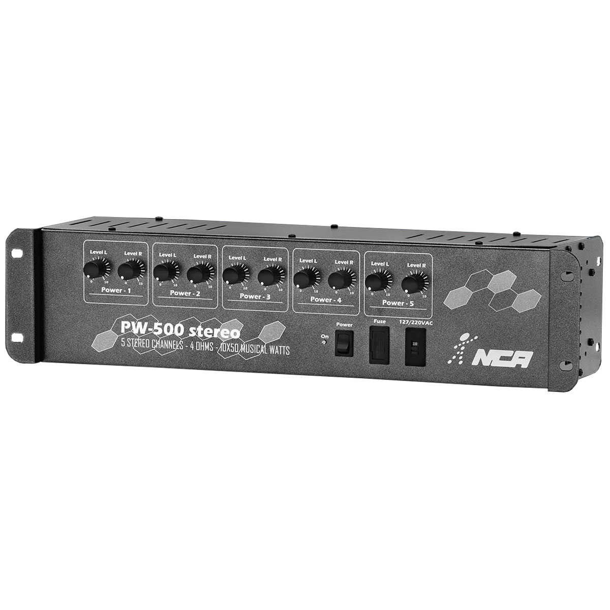 Amplificador Som Ambiente 300W RMS ( Total ) PW-500ST - NCA