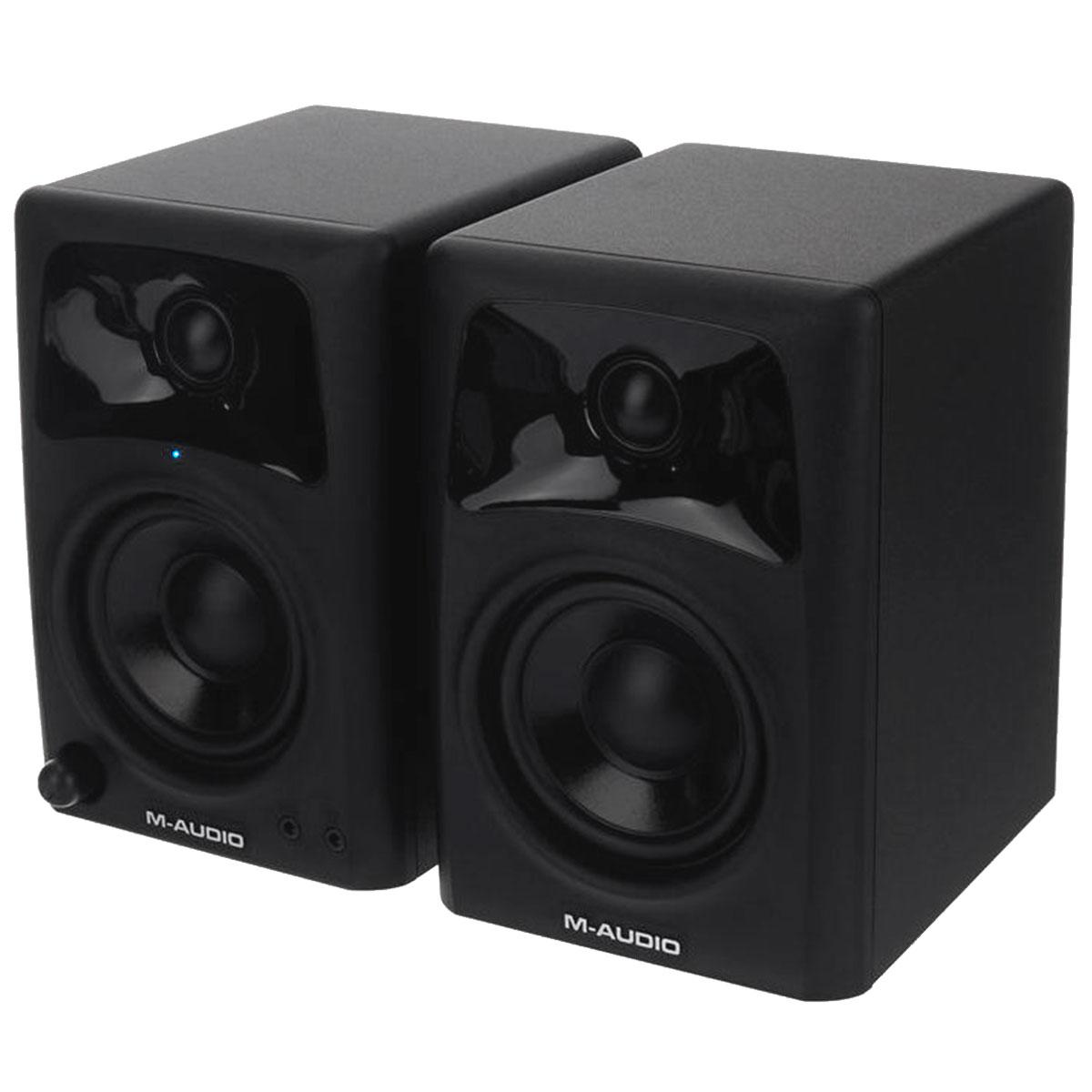 AV32 - Monitor de Referência 10W AV 32 ( Par ) - M-Audio