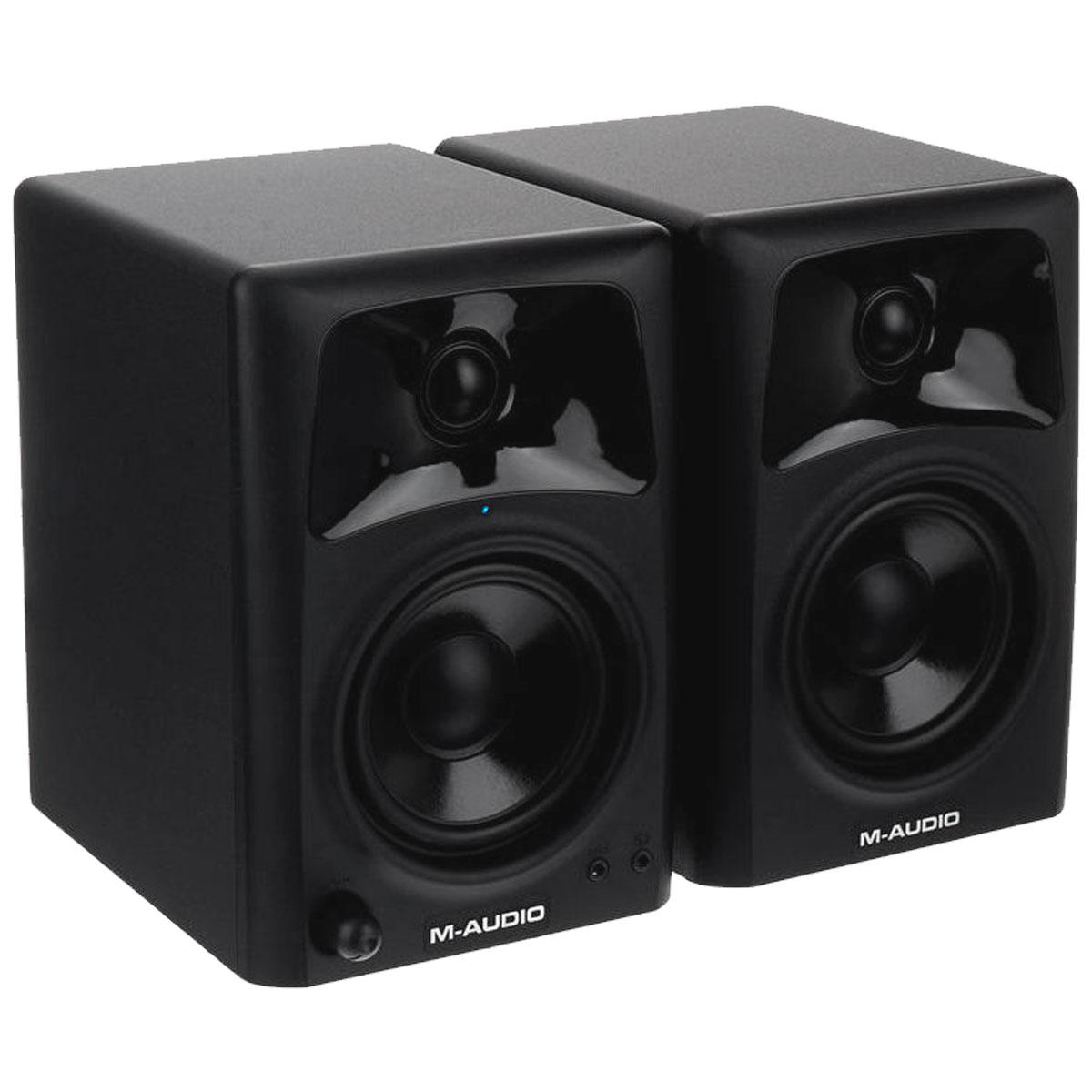 AV42 - Monitor de Referência 20W AV 42 ( Par ) - M-Audio