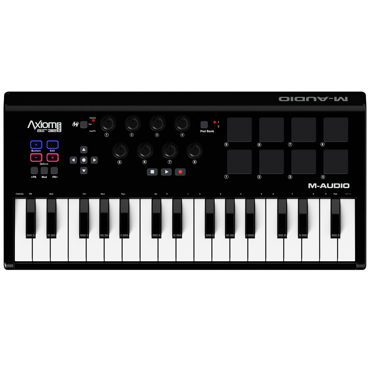 AxiomAirMini32 - Teclado Controlador MIDI / USB Axiom AIR Mini 32 - M-Audio