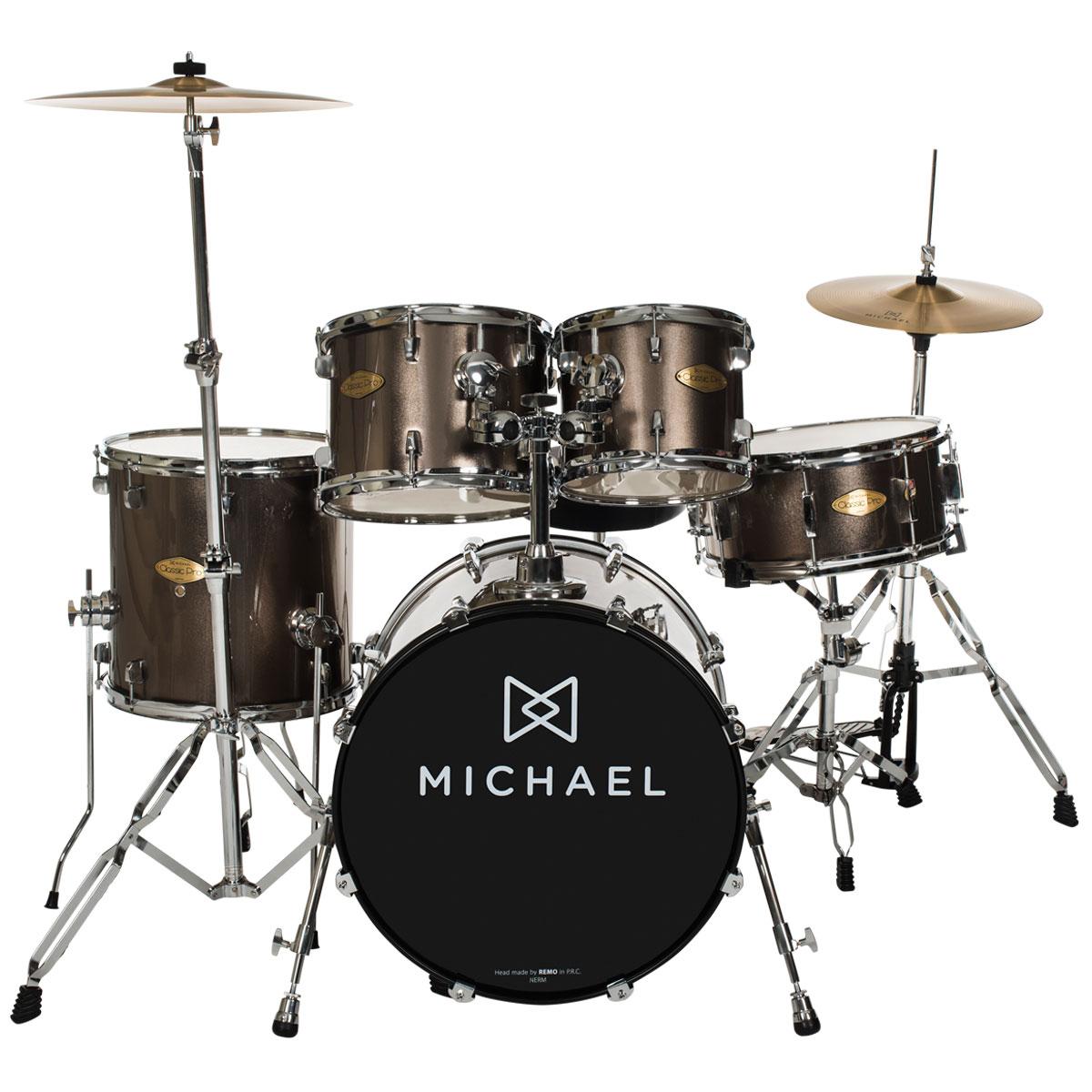 Bateria Acústica Bumbo 18 Pol - Classic Pro DM 841 CHR Michael