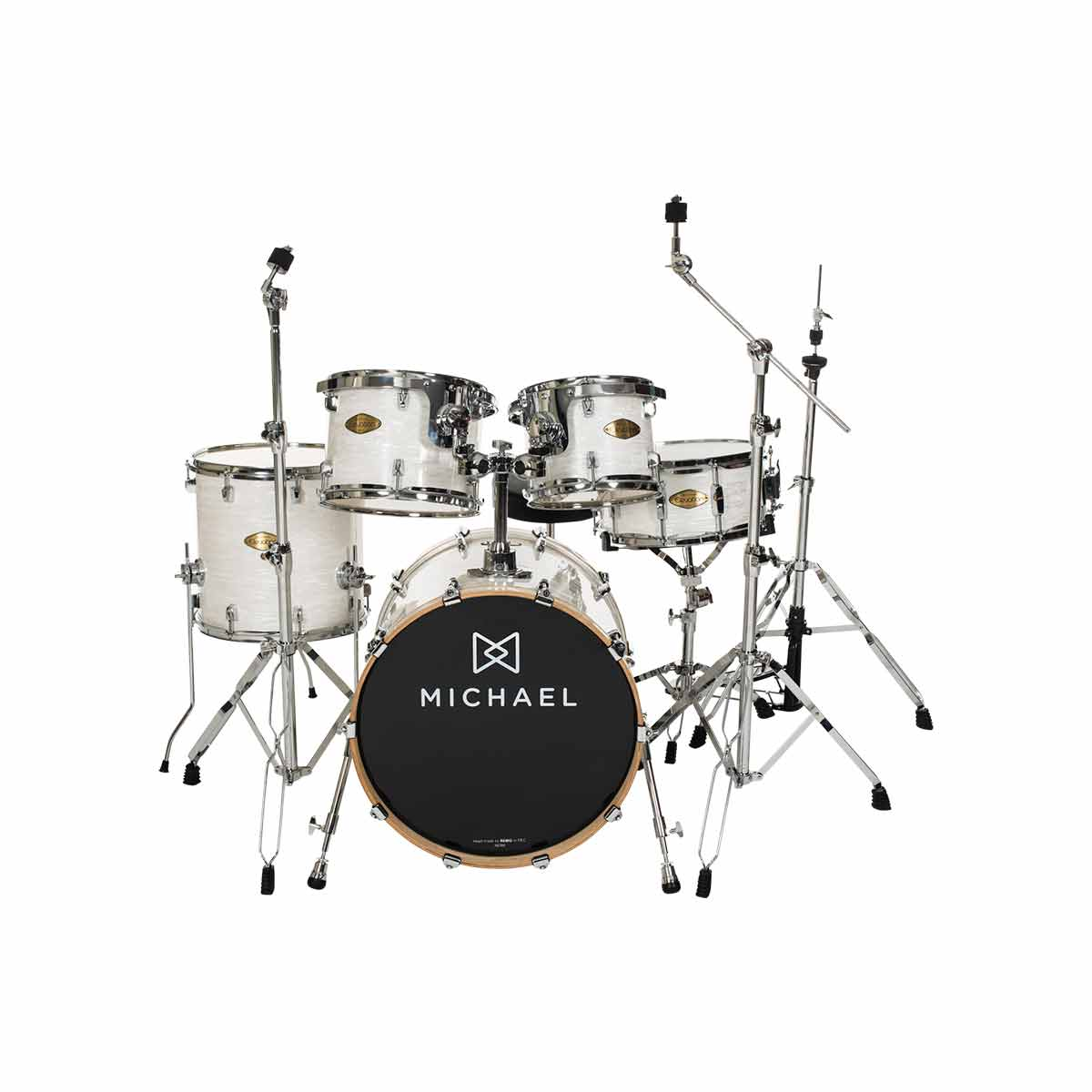 Bateria Ac�stica Bumbo 18 Polegadas Elevation DM851 MP Madrep�rola - Michael