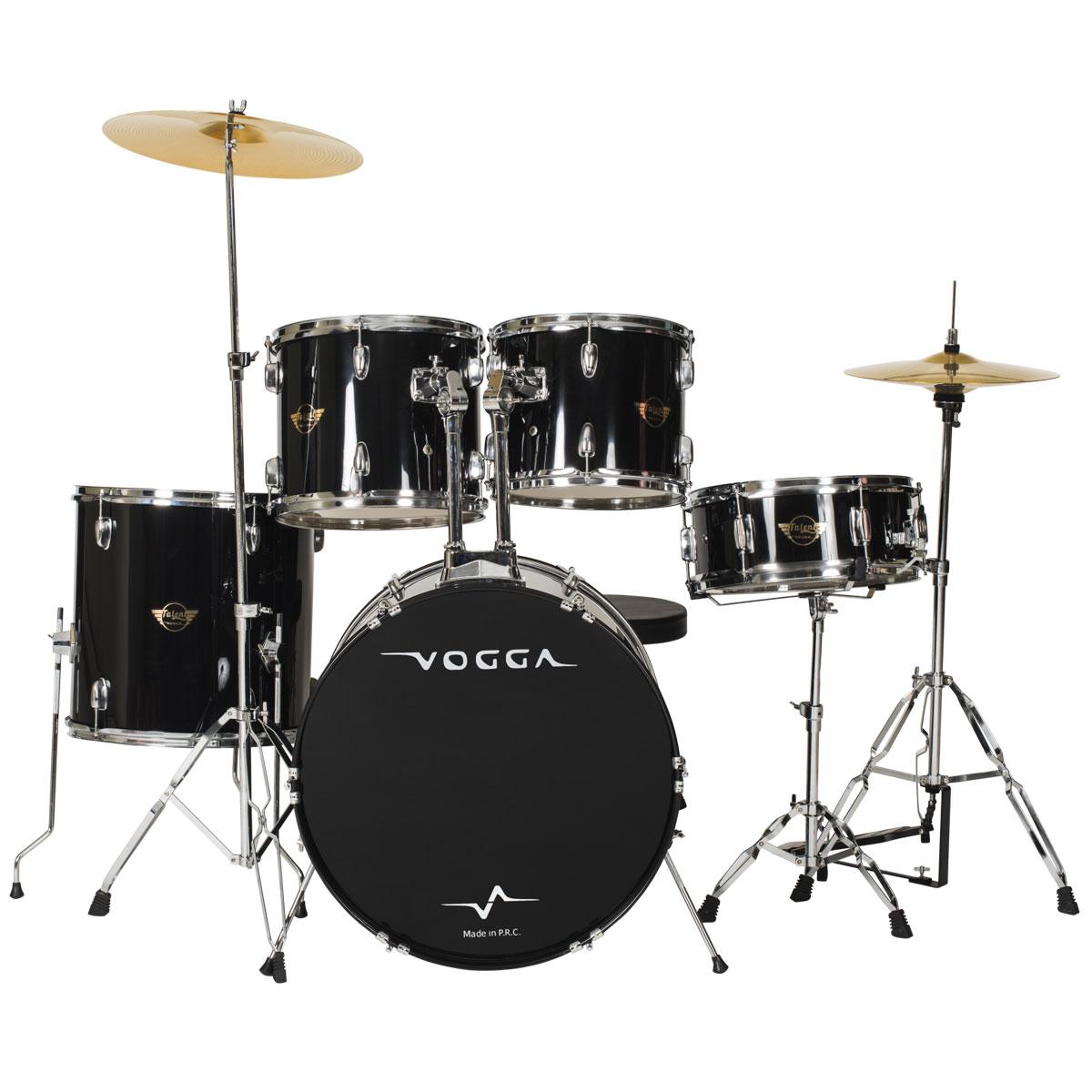 Bateria Acústica Bumbo 20 Polegadas Talent VPD920 Preta - Vogga
