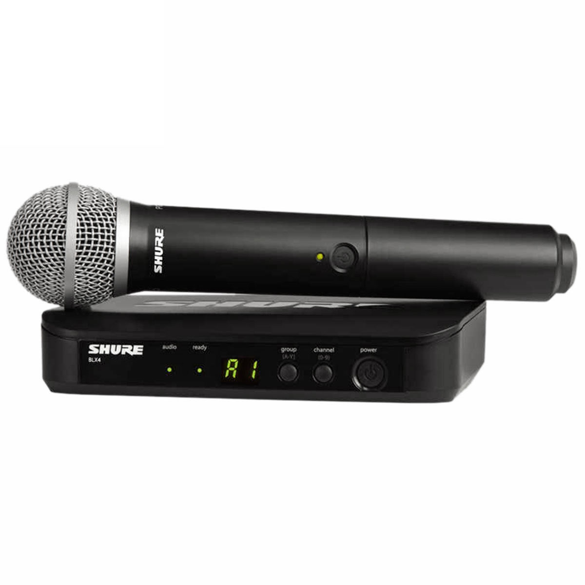BLX24PG58 - Microfone s/ Fio de Mão BLX 24BR PG58 - Shure