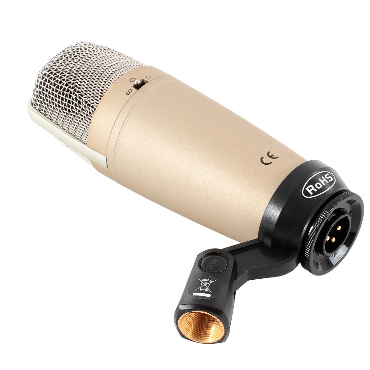 C3 - Microfone c/ Fio P/ Estúdio C 3 - Behringer