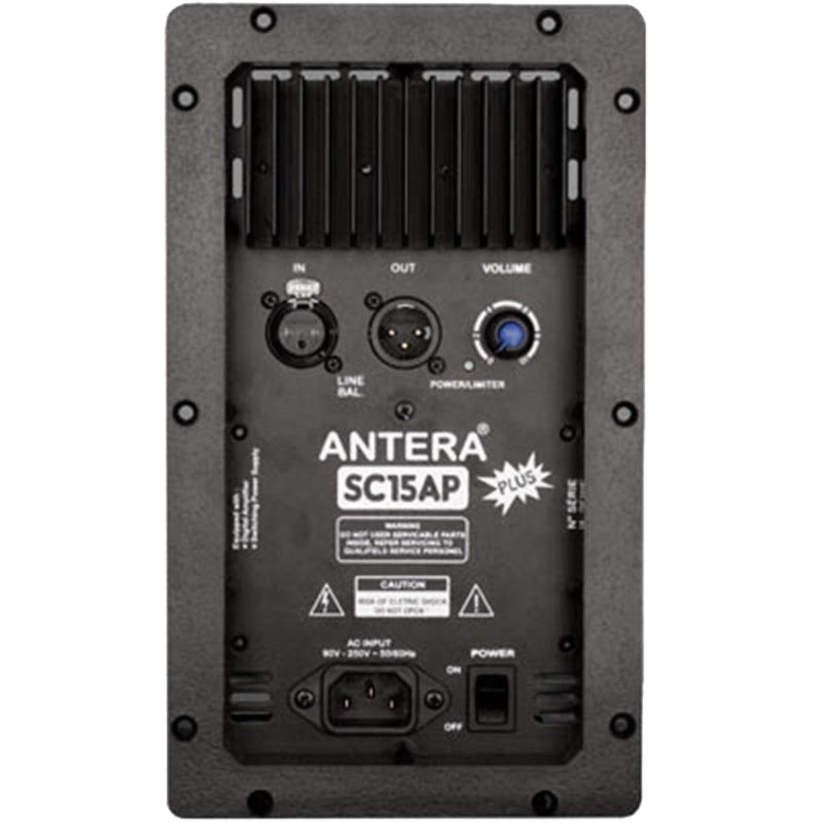 Caixa Ativa 200W SC 15 AP Plus Preta - Antera