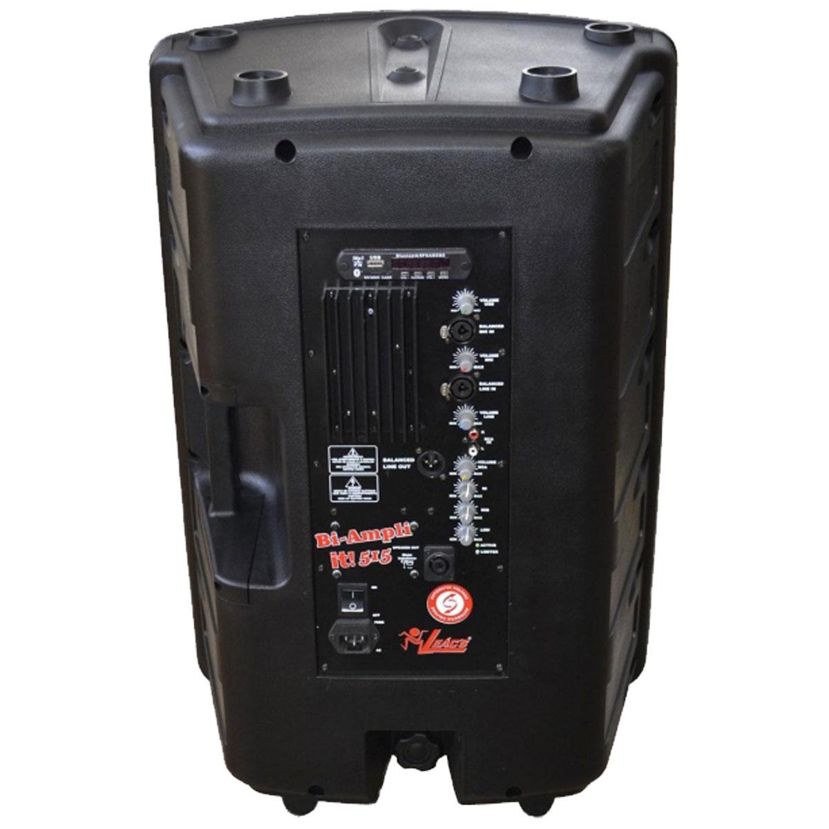 Caixa Ativa 500W c/ Bluetooth e USB IT 515 - Leacs