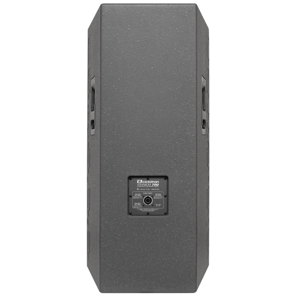 Caixa Passiva Fal 15 Pol 500W - Titanium 700 Ciclotron