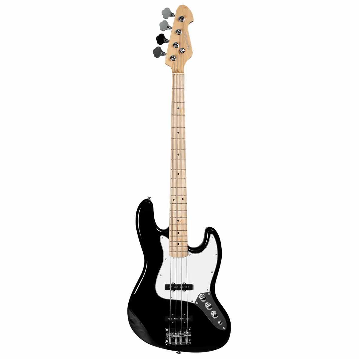 Contrabaixo 4 Cordas Passivo Jazz Bass BM607 BK Preto - Michael