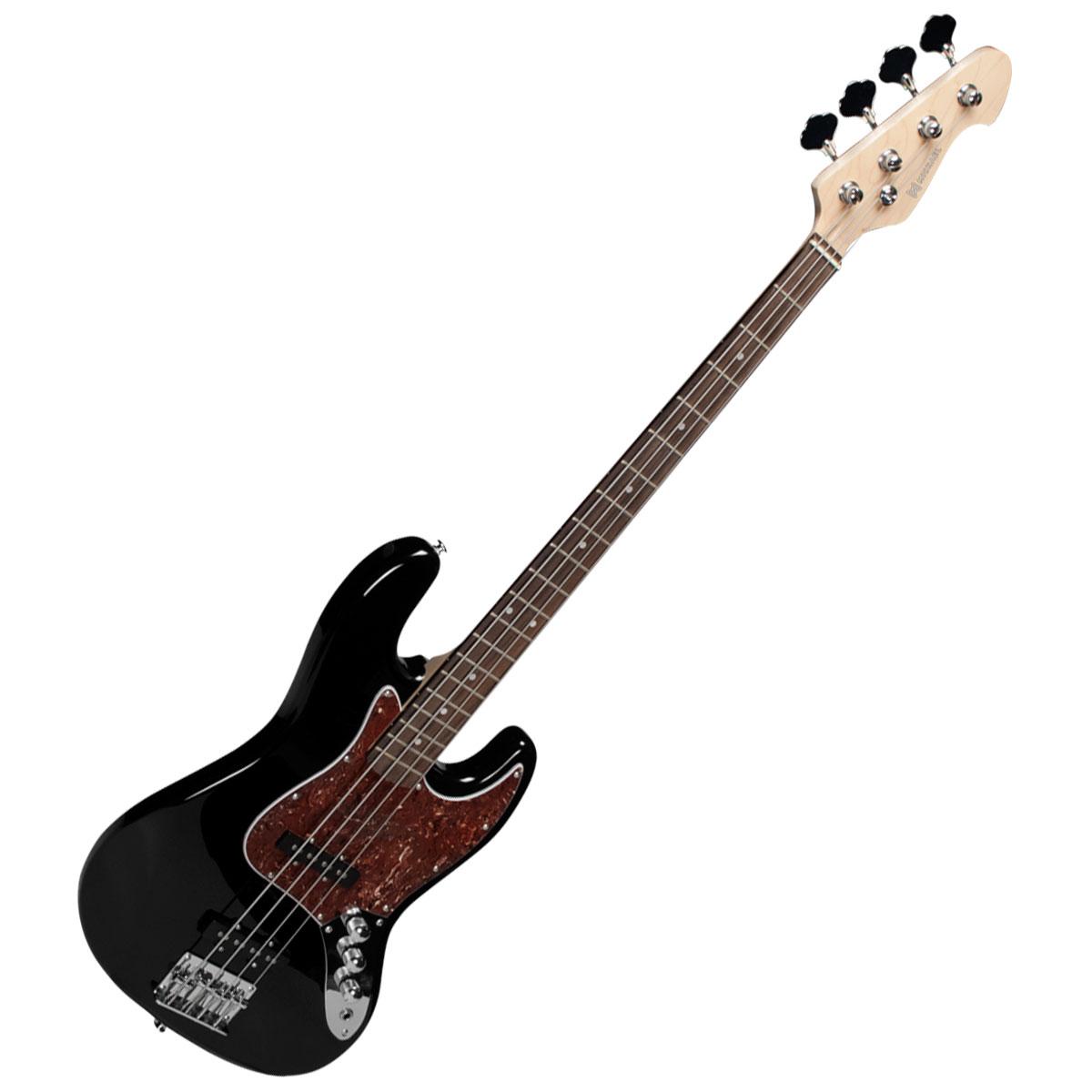 Contrabaixo 4 Cordas Passivo Jazz Bass BM607 BT Black Tortoise - Michael