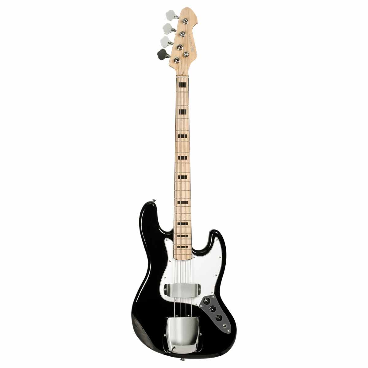 Contrabaixo 4 Cordas Passivo Jazz Bass BM675 BK Preto - Michael