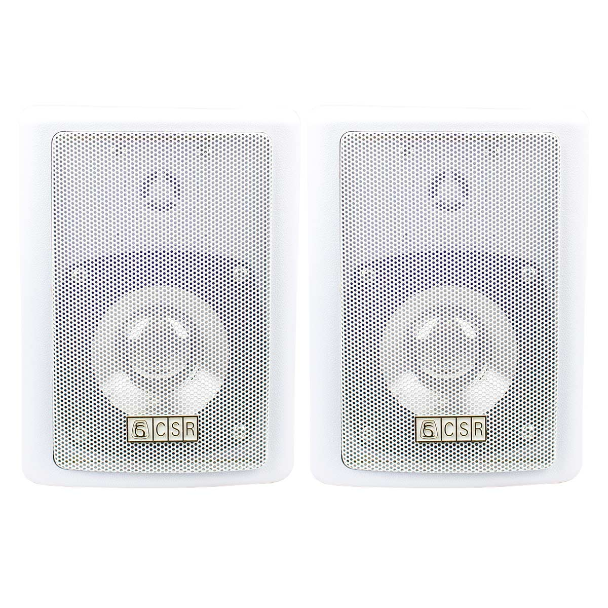 Caixa Passiva p/ Som Ambiente 50W c/ Suporte (Par) - 80 CSR