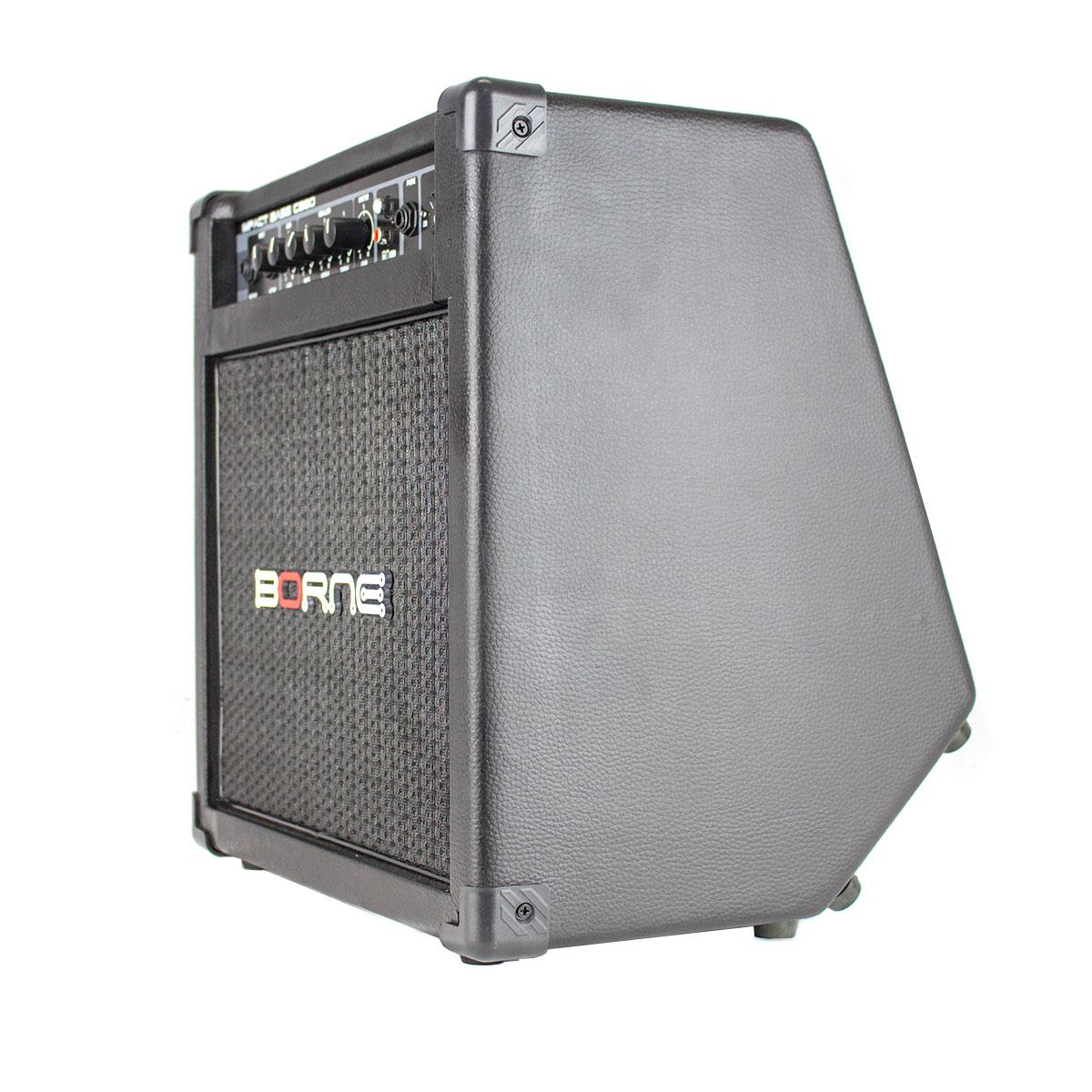 Cubo Ativo p/ Contrabaixo Fal 8 Pol 30W Impact Bass - CB 80 Borne