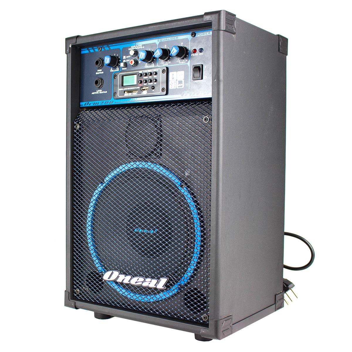 Cubo Multiuso Ativo Fal 8 Pol 50W c/ USB - OCM 290 Oneal