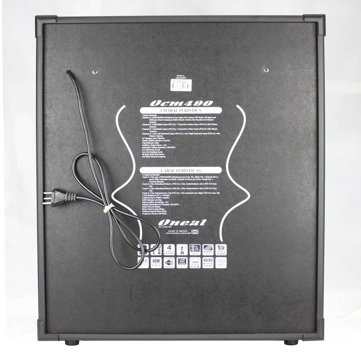 Cubo Multiuso Fal 12 Pol 80W c/ USB - OCM490 Oneal