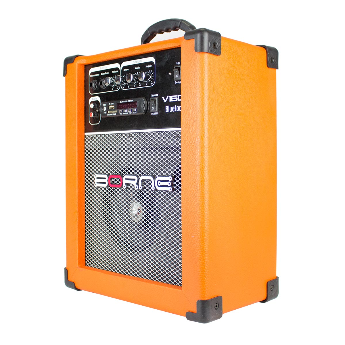 Cubo Multiuso Fal 6,5 Pol 40W c/ USB / Bluetooth - V160 BT Borne